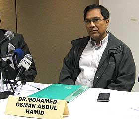 Dr Osman mempertahankan laporan perubatannya itu di mana beliau tidak menemui sebarang kesan liwat selepas memeriksa dubur Saiful.
