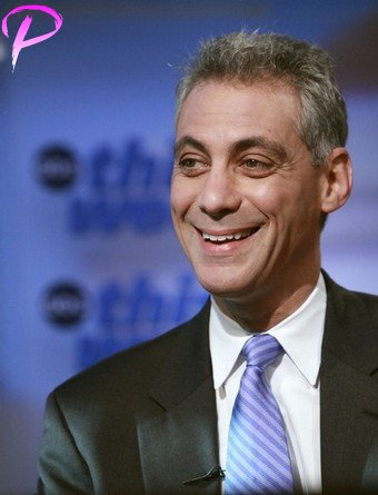 Rep. Rahm Emanuel, D-Ill., stops to talk to with reporters after leaving his local congressional office for the night, Thursday, Nov. 6, 2008 in Chicago.