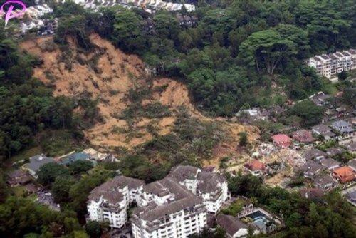 Malaysia Landslide