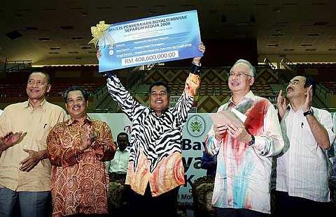 sekiranya kerajaan Barisan Nasional ikhlas membela Rakyat Malaysia, termasuklah di Terengganu dan khususnya di Kuala Terengganu, maka gambar ini berlaku sekitar Mac 2008, bukan Sabtu lalu.