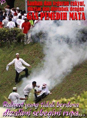 Malaysia Language Protest