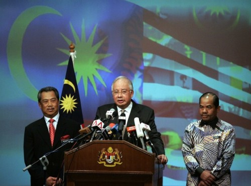 penyusunan Kabinet baru Najib tadi, dari segi zahirnya ia diakui mempunyai roh dan ada komitmen untu membela rakyat dan melakukan perubahan dalam kerajaan. Tetapi malang sedikit Najib kurang memberi perhatian kepada soal-soal keadilan dan kesaksamaan di dalam paritnya sendiri- MSO