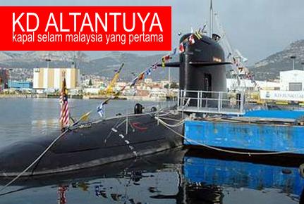 Mengenangkan sumbangan besar Altantuya Sharibuu @ Aminah Abdullah dalam usaha membawa kapal selam pertama negara hingga mengorbankan nyawa beliau pada Oktober 2006, saya secara peribadi mencadangkan nama Kapal itu ditukar kepada 'KD Altantuya'. - Herman Samsudeen