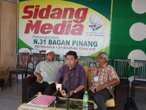 Sidang Media Oleh Salahudin Ayub pada pukul 6ptg